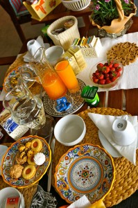 colazione b&b cavalluccidimare